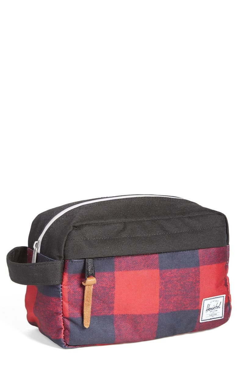 HERSCHEL SUPPLY CO. 'Chapter Buffalo' Toiletry Kit, Main, color, 979