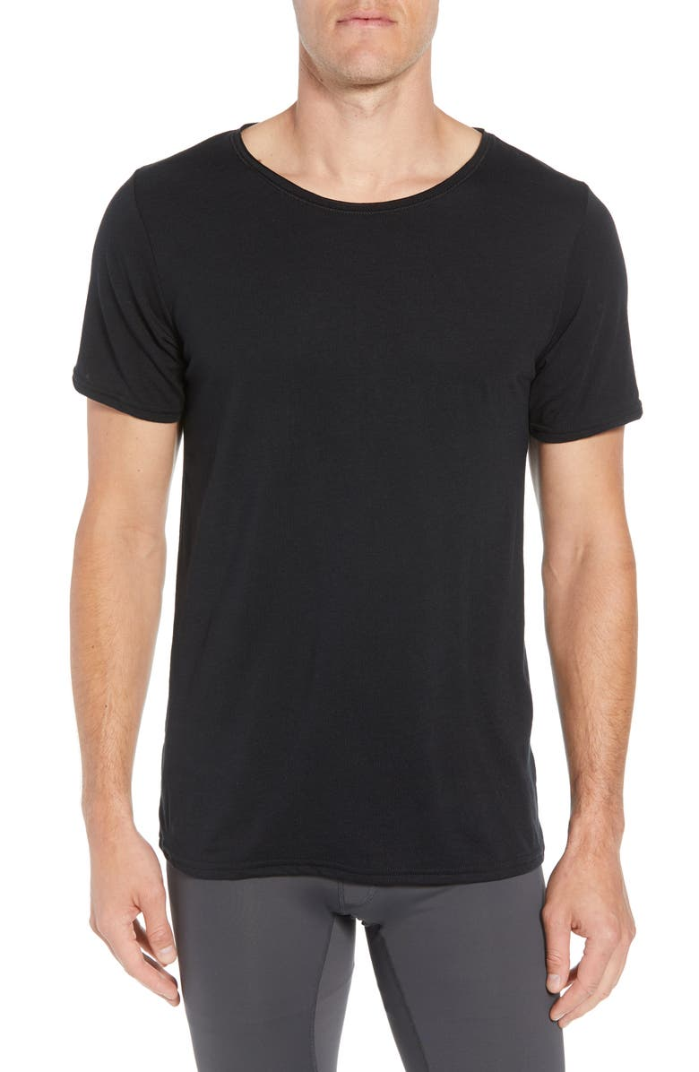 ALO Ultimate T-Shirt, Main, color, 001
