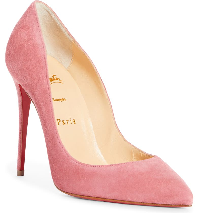 CHRISTIAN LOUBOUTIN Pigalle Follies Pointed Toe Pump, Main, color, 651