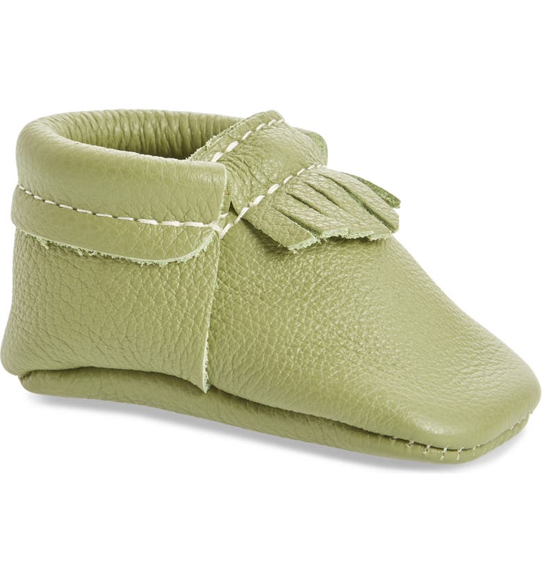 FRESHLY PICKED Leather Moccasin, Main, color, 300