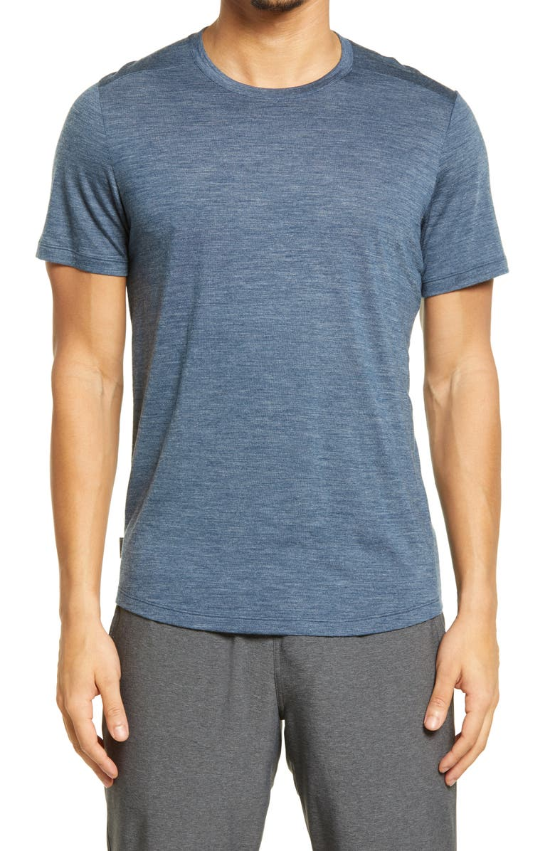 ICEBREAKER Cool-Lite<sup>™</sup> Sphere Active T-Shirt, Main, color, SERENE BLUE HEATHER