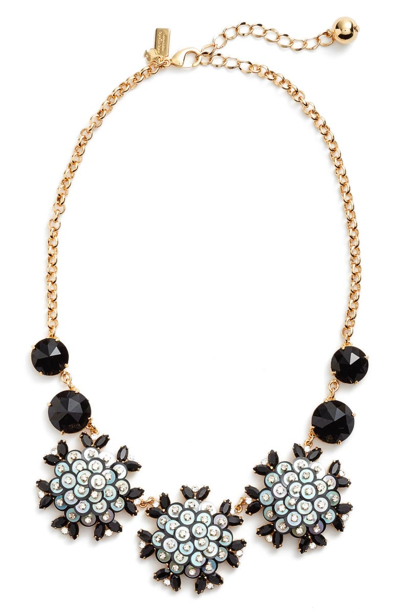 KATE SPADE NEW YORK be bold statement collar necklace, Main, color, 001