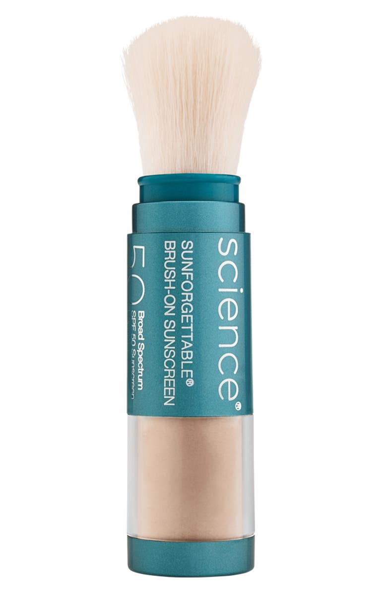 COLORESCIENCE<SUP>®</SUP> Sunforgettable<sup>®</sup> Total Protection Brush-On Sunscreen SPF 50, Main, color, MEDIUM