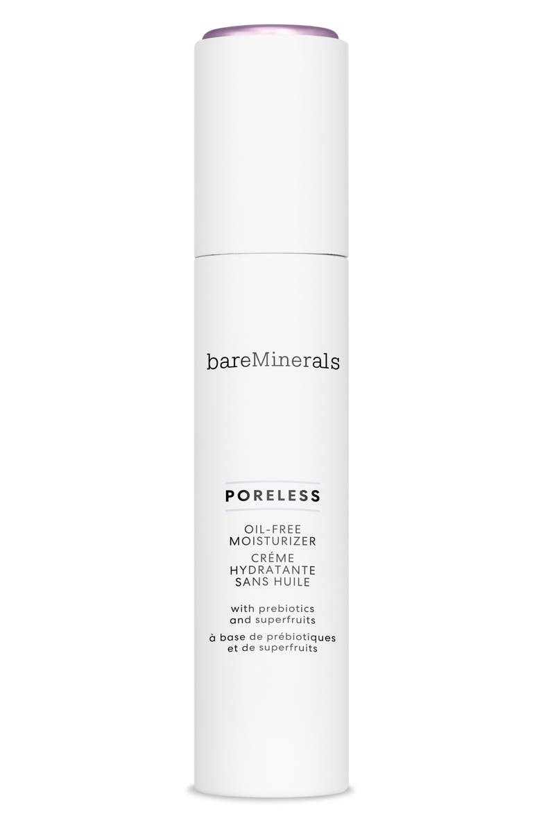BAREMINERALS<SUP>®</SUP> Poreless Oil-Free Moisturizer, Main, color, NO COLOR