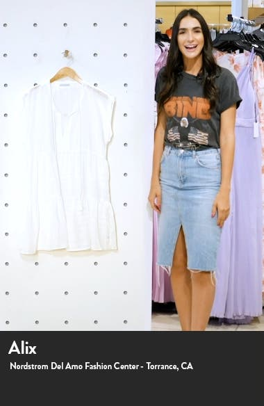Michelle Tiered Cover-Up, sales video thumbnail