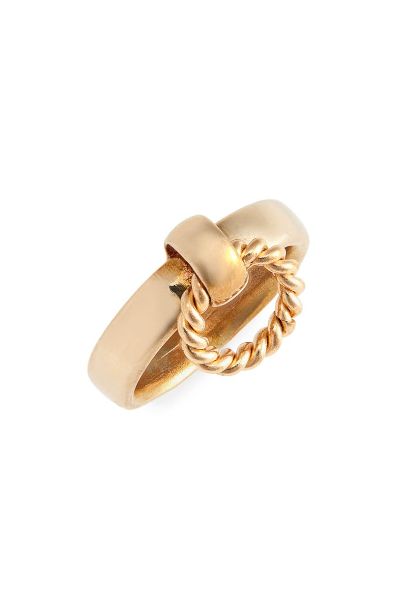LAURA LOMBARDI Franca Twist Ring, Main, color, 710