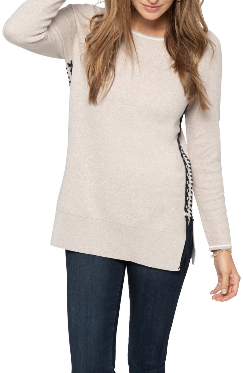 NIC+ZOE On My Side Cotton Blend Sweater, Main, color, 270