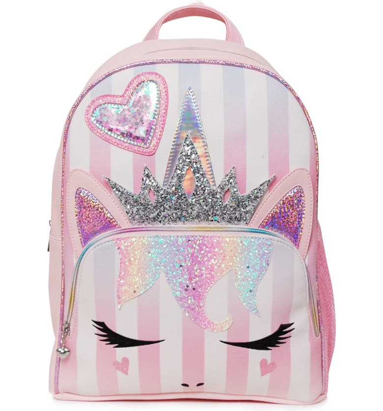 OMG ACCESSORIES OMG Miss Gwen Unicorn Backpack, Main, color, 662