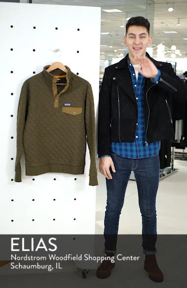 Snap-T<sup>®</sup> Quilted Fleece Pullover, sales video thumbnail