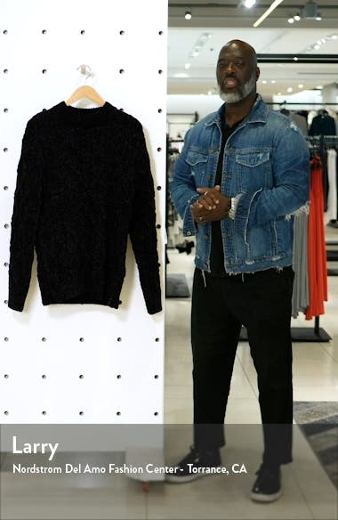Regular Fit Chenille Pullover Sweater, sales video thumbnail