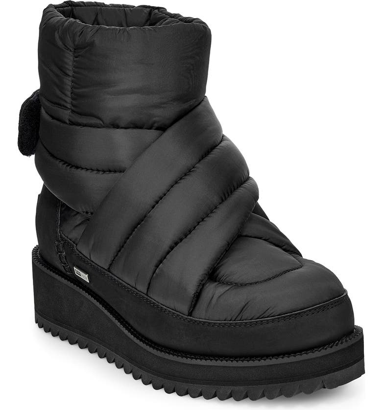 UGG<SUP>®</SUP> Montara Waterproof Insulated Winter Boot, Main, color, 001