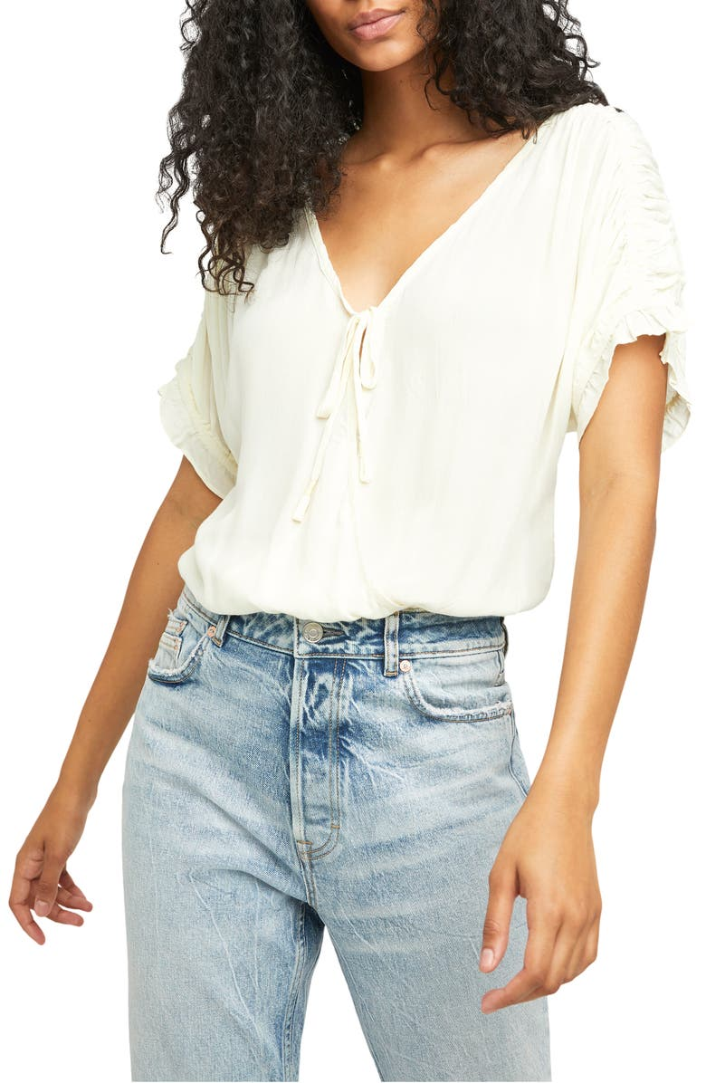 FREE PEOPLE Cleo Bodysuit, Main, color, IVORY