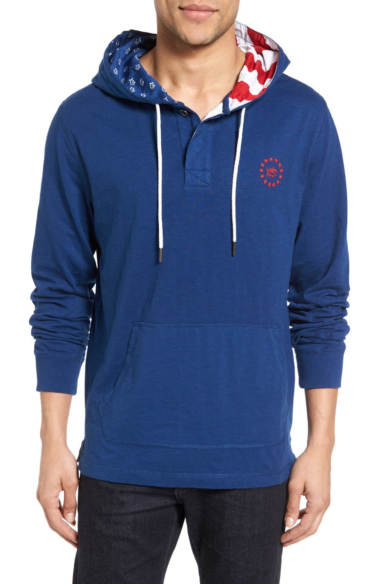 SOUTHERN TIDE Freedom Rock Hoodie, Main, color, 422