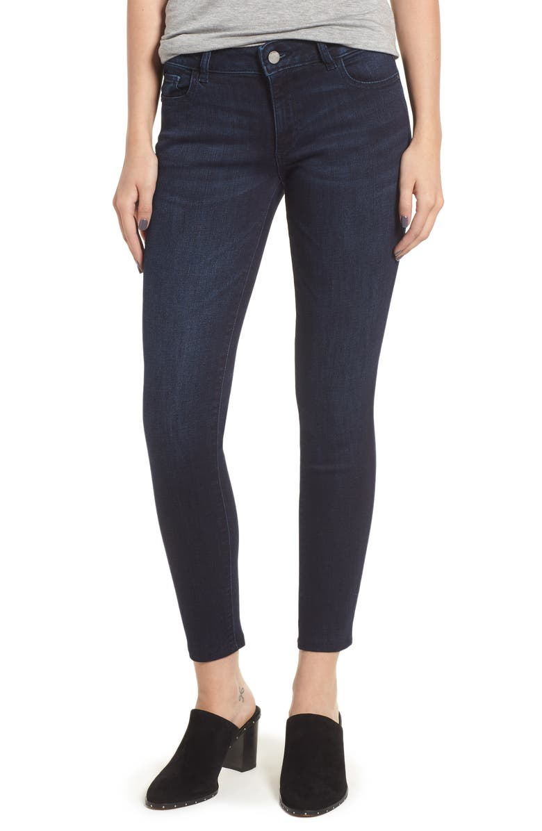 DL 1961 Emma Low Rise Ankle Skinny Jeans, Main, color, 405