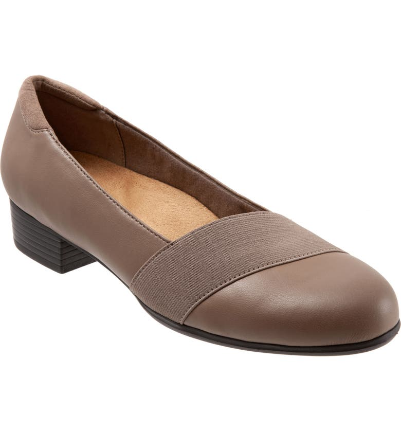 TROTTERS Melinda Loafer, Main, color, TAUPE FAUX LEATHER