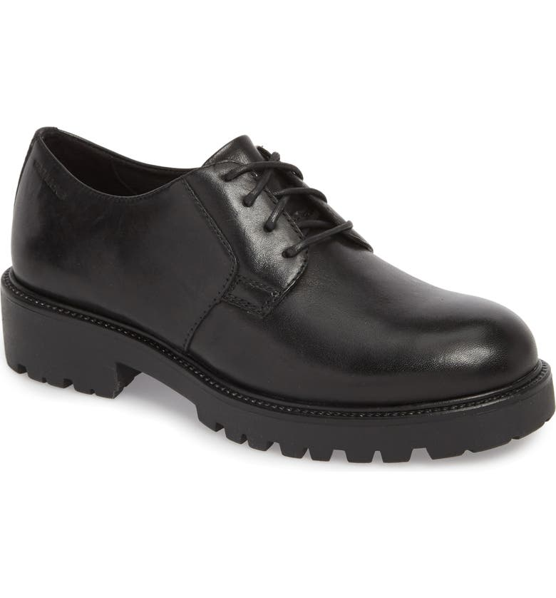 VAGABOND SHOEMAKERS Kenova Lace-Up Oxford, Main, color, BLACK LEATHER