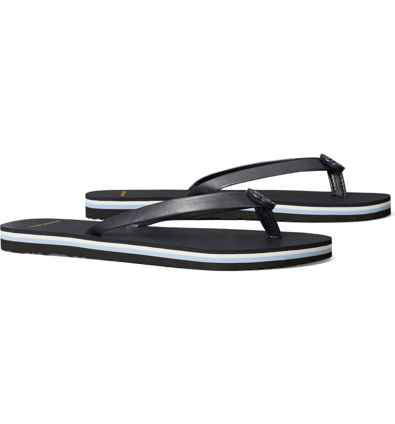 TORY BURCH Minnie Flip Flop, Main, color, PERFECT NAVY