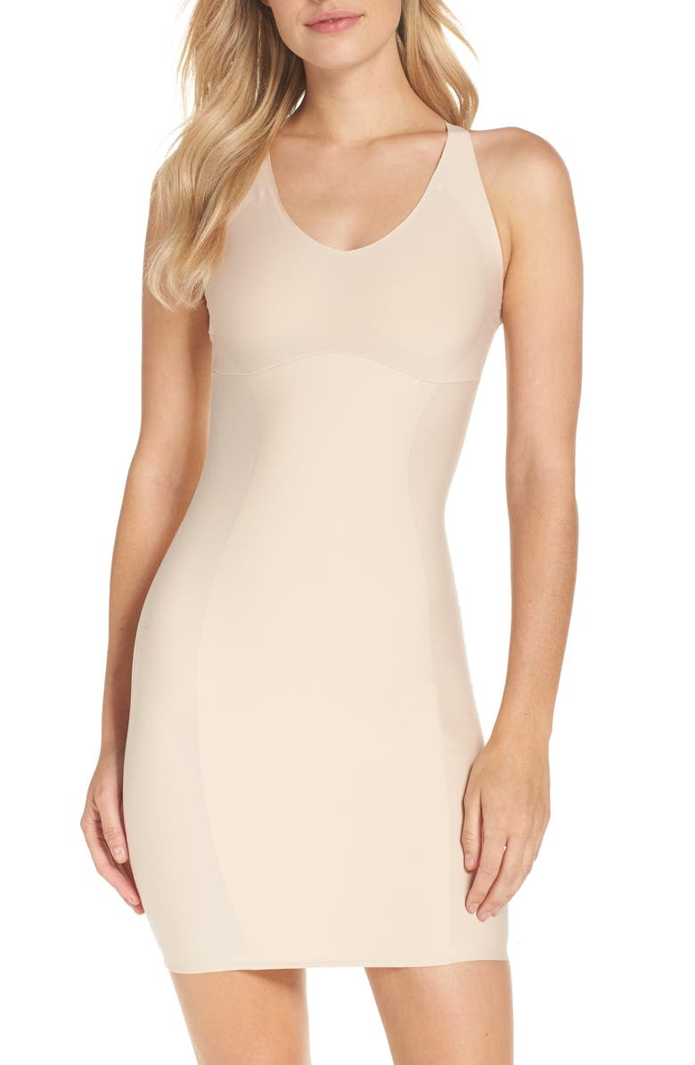 YUMMIE Convertible Slip, Main, color, FRAPPE