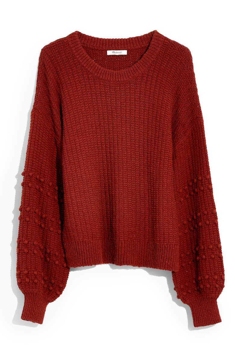 MADEWELL Bobble Sweater, Main, color, 600