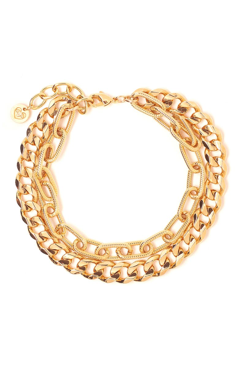 TESS + TRICIA Quinn Layered Bracelet, Main, color, 710