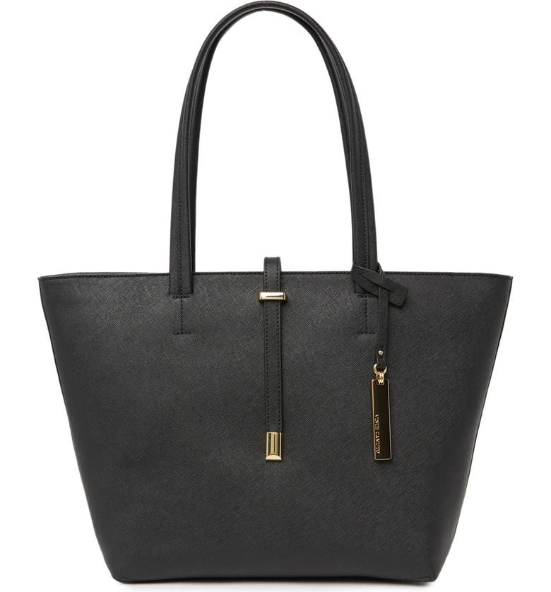 VINCE CAMUTO 'Leila - Small' Leather Tote, Main, color, 002