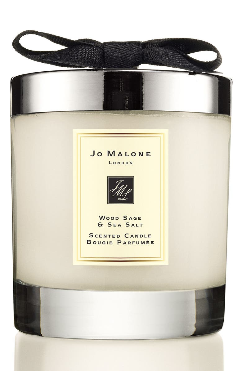 JO MALONE LONDON<SUP>™</SUP> Wood Sage & Sea Salt Scented Home Candle, Main, color, No Color