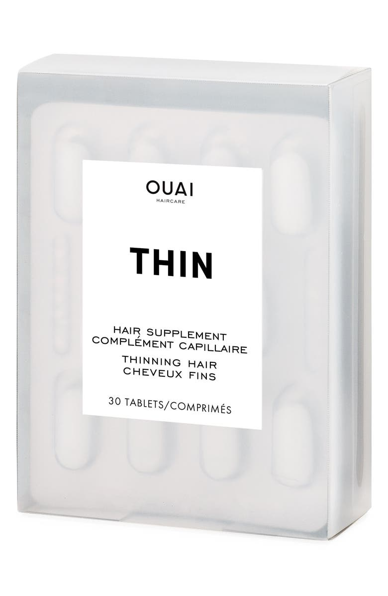 OUAI Thinning Hair Supplement, Main, color, NO COLOR