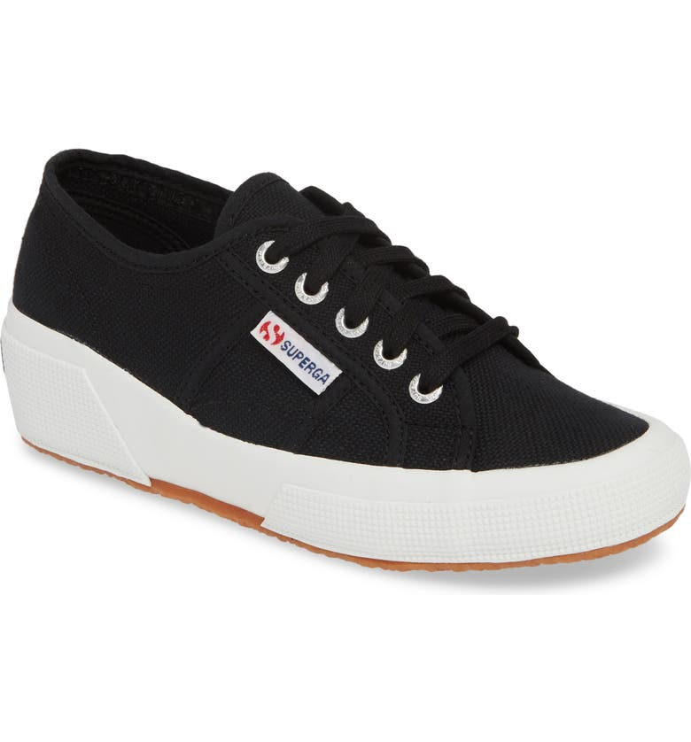 SUPERGA 'Linea' Wedge Sneaker, Main, color, 002