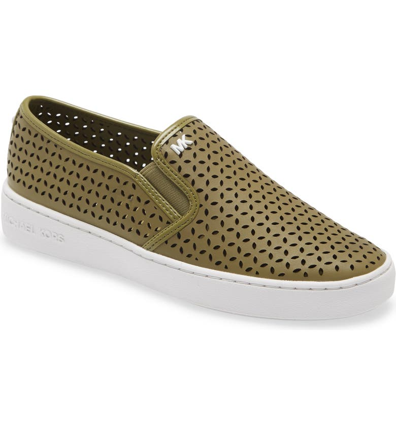 MICHAEL MICHAEL KORS Olivia Slip-On Sneaker, Main, color, OREGANO