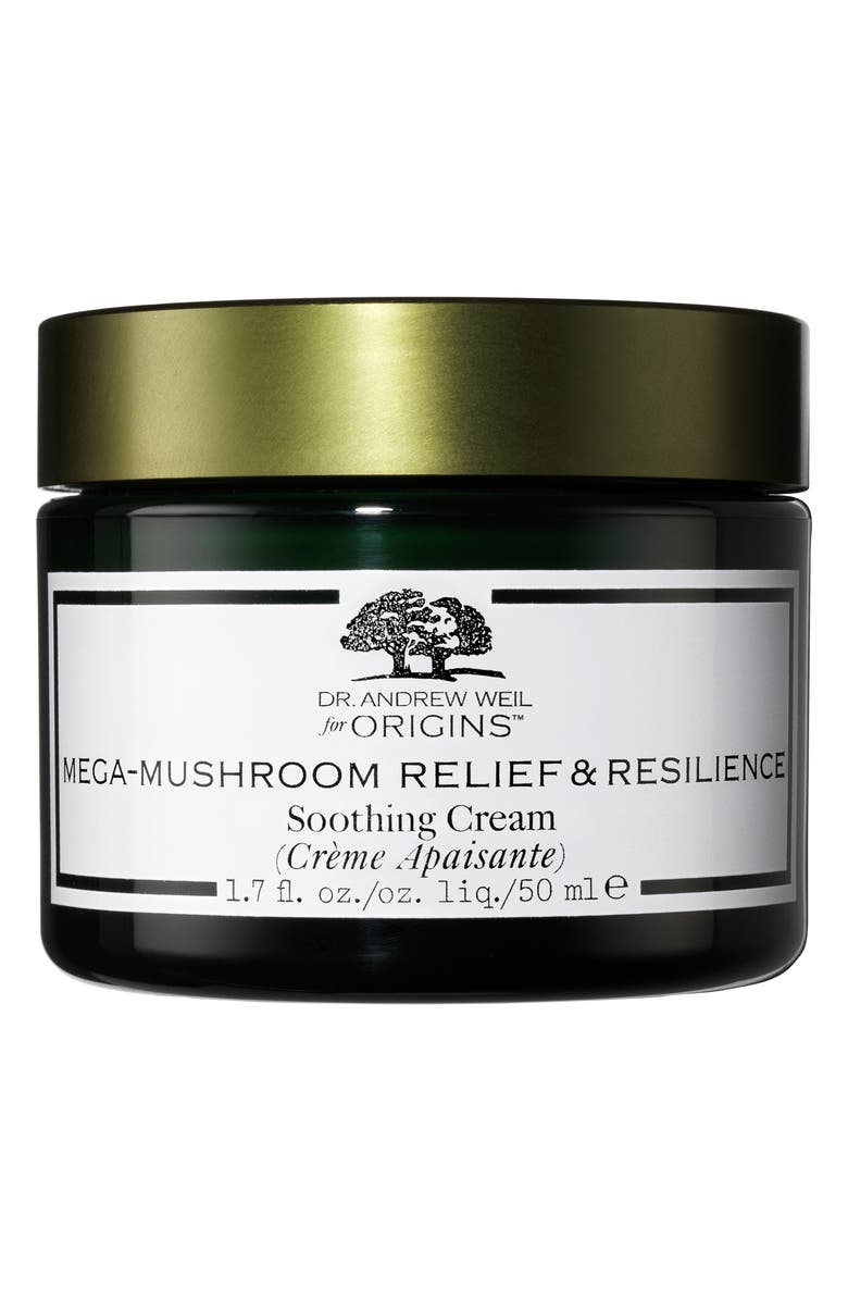 ORIGINS Dr. Andrew Weil for Origins<sup>™</sup> Mega-Mushroom Relief & Resilience Soothing Cream, Main, color, 000