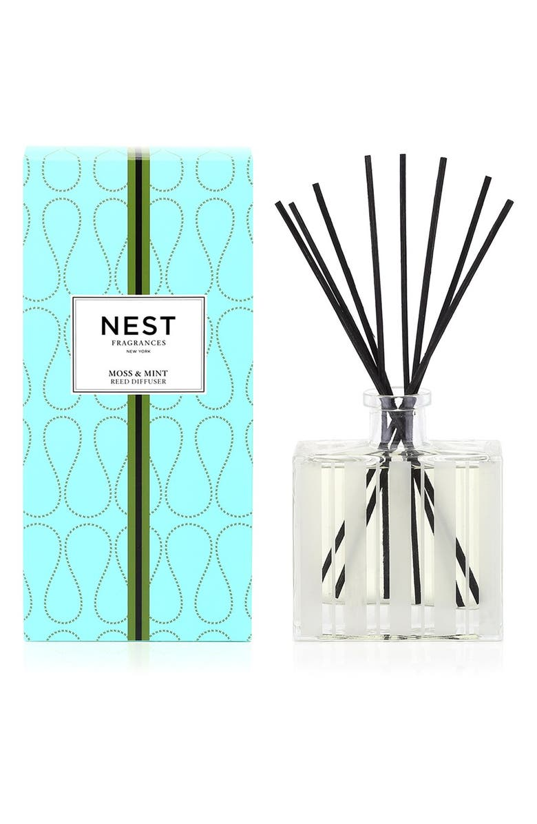 NEST NEW YORK Moss & Mint Reed Diffuser, Main, color, NO COLOR