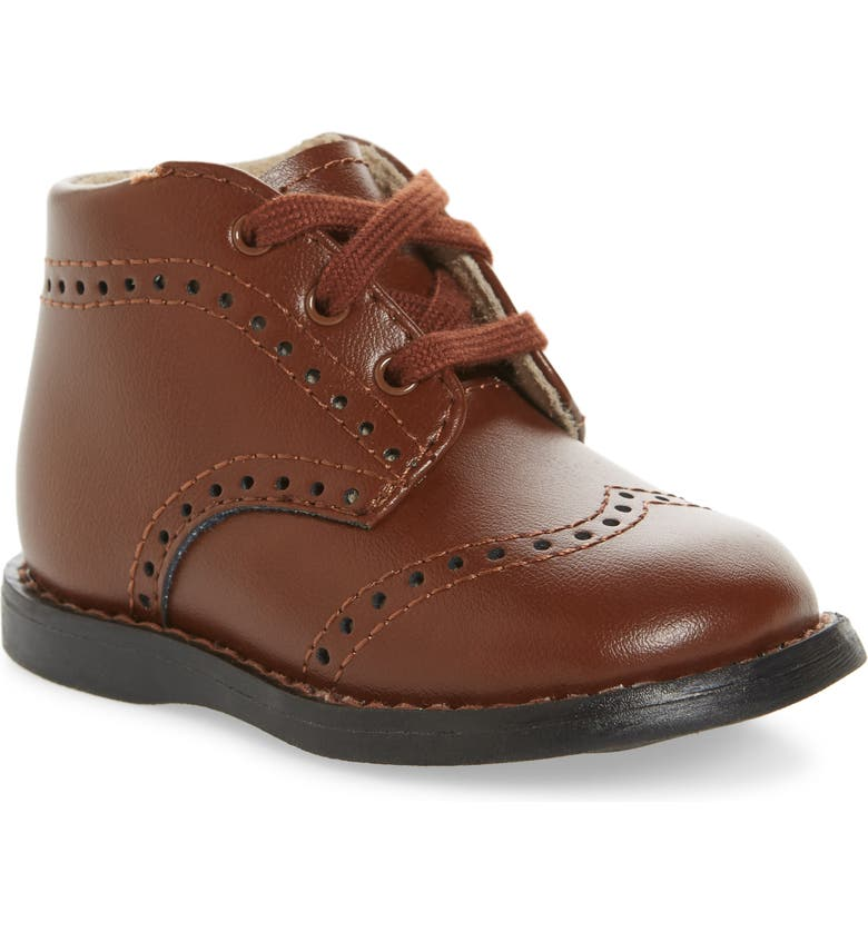 FOOTMATES Cole Boot, Main, color, COGNAC BURNISHED