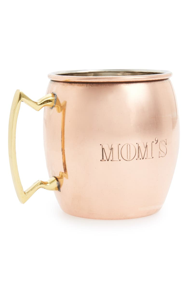 MG DÉCOR 'Mom's' Copper Mug, Main, color, 220