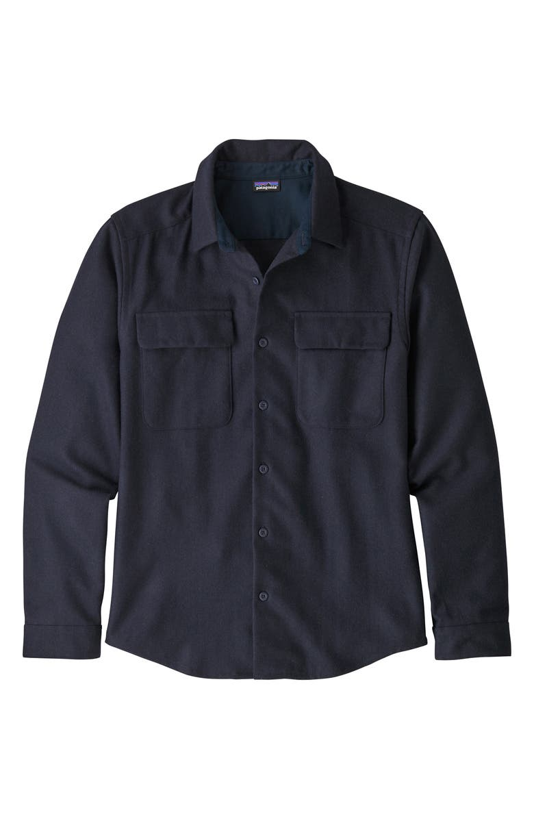 PATAGONIA Recycled Wool Blend Shirt, Main, color, CNY