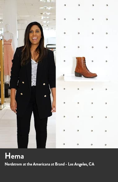 Milu Lace-Up Leather Boot, sales video thumbnail