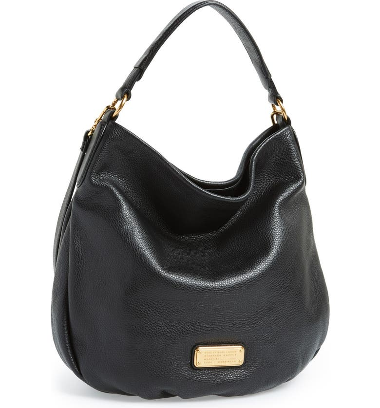 MARC JACOBS MARC BY MARC JACOBS 'New Q Hillier' Hobo, Main, color, 001