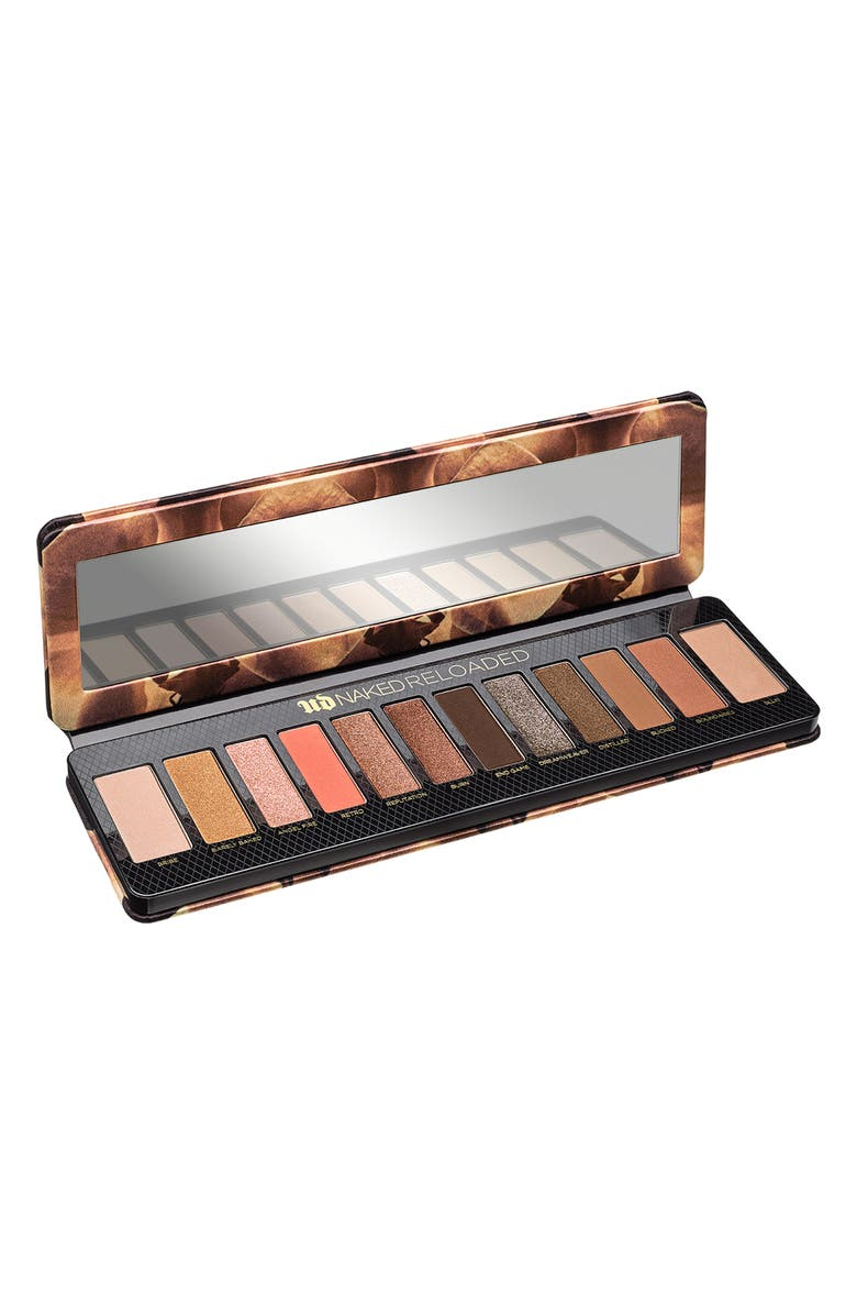 URBAN DECAY Naked Reloaded Eyeshadow Palette, Main, color, NO COLOR
