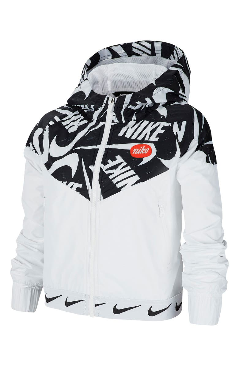 NIKE Sportswear Windrunner Hooded Jacket, Main, color, 104