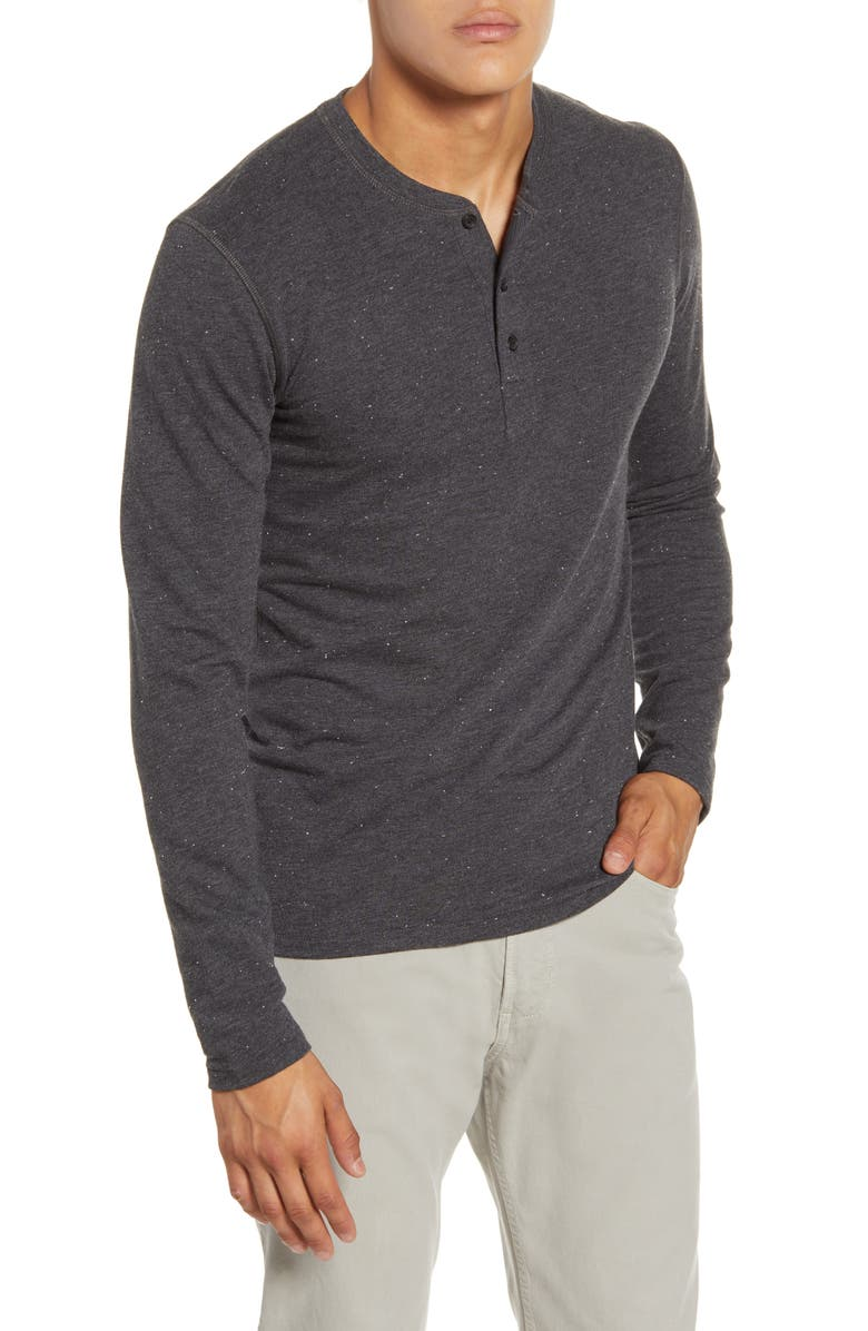 BILLY REID Cotton Blend Henley, Main, color, 001