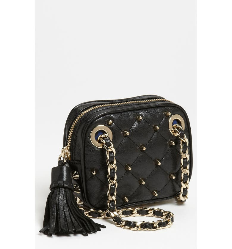 REBECCA MINKOFF 'Mini Flirty' Crossbody Bag, Main, color, 001