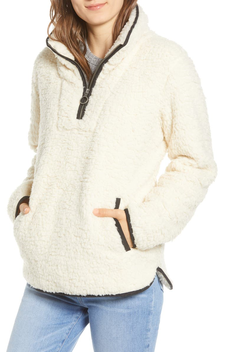 THREAD & SUPPLY Wubby Fleece Pullover, Main, color, 900
