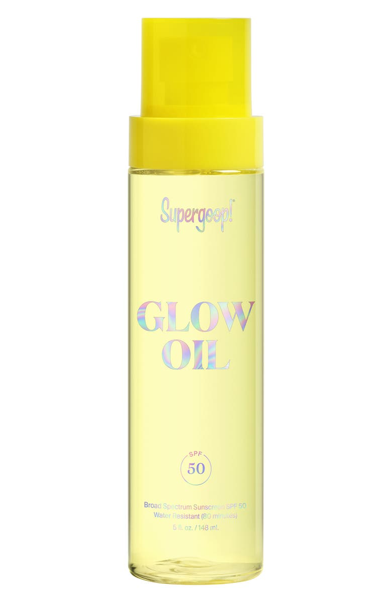 SUPERGOOP!<SUP>®</SUP> Supergoop! Glow Oil SPF 50 Sunscreen, Main, color, NO COLOR