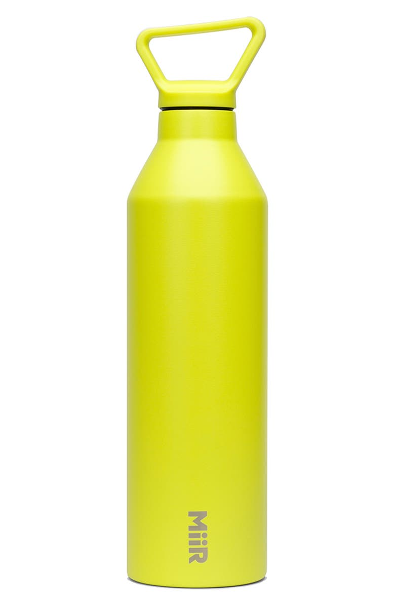 MIIR 23-Ounce Narrow Mouth Stainless Steel Insulated Water Bottle, Main, color, SPARK
