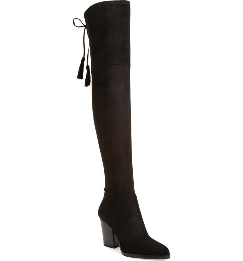 MARC FISHER LTD Alinda Over the Knee Boot, Main, color, 001