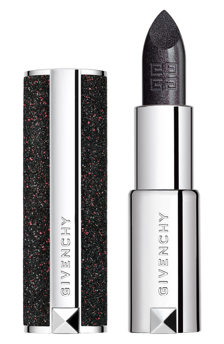 GIVENCHY Le Rouge Night Noir Sheer Sparkling Lipstick, Main, color, 6 NIGHT GRAY