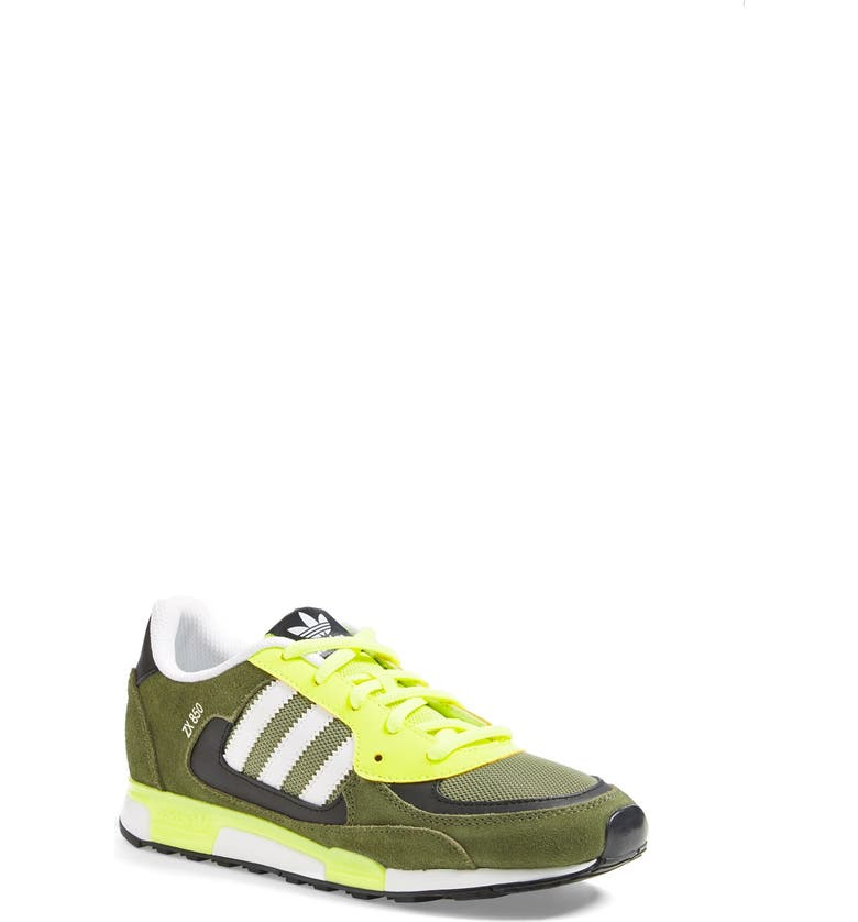 ADIDAS 'ZX 850' Sneaker, Main, color, ST MAJOR/ ELECTRICITY/ WHITE