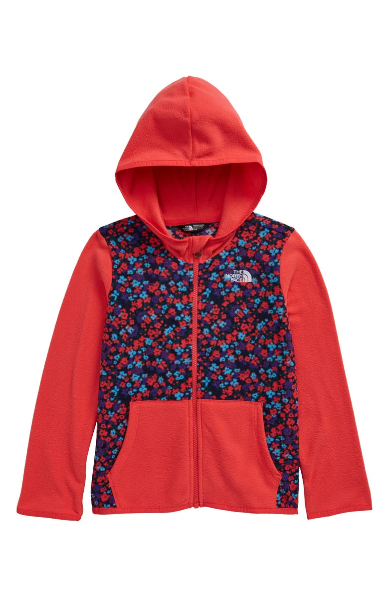 THE NORTH FACE Kids' Paradise Pink Hooded Jacket, Main, color, PARADISE PINK