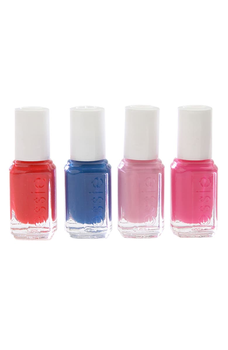ESSIE <sup>®</sup> 'Wedding Collection' Mini 4-Pack, Main, color, 000