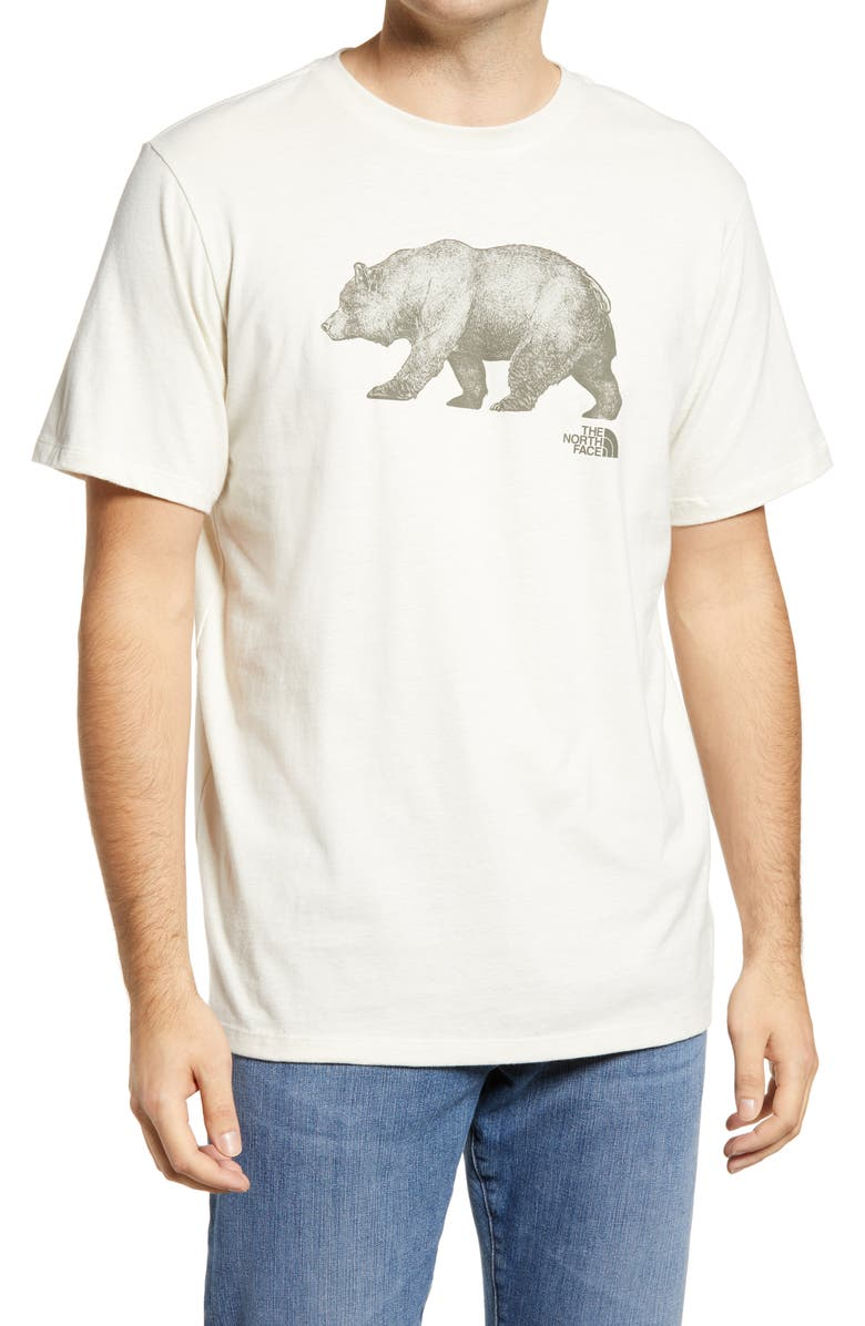 THE NORTH FACE Bear Graphic Tee, Main, color, VINTAGE WHITE