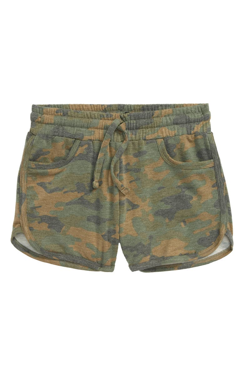 JOE'S Kids' Camo Print Shorts, Main, color, 300